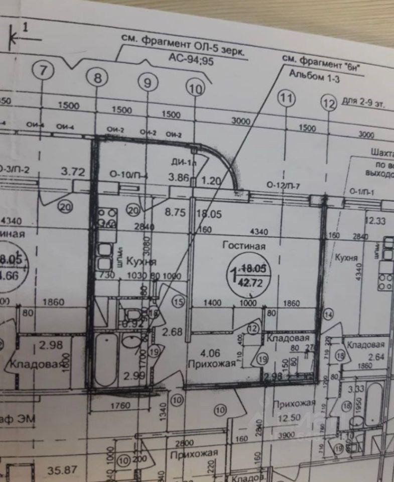 Продажа однокомнатной квартиры поселок Развилка, метро Домодедовская, цена 7800000 рублей, 2021 год объявление №638344 на megabaz.ru