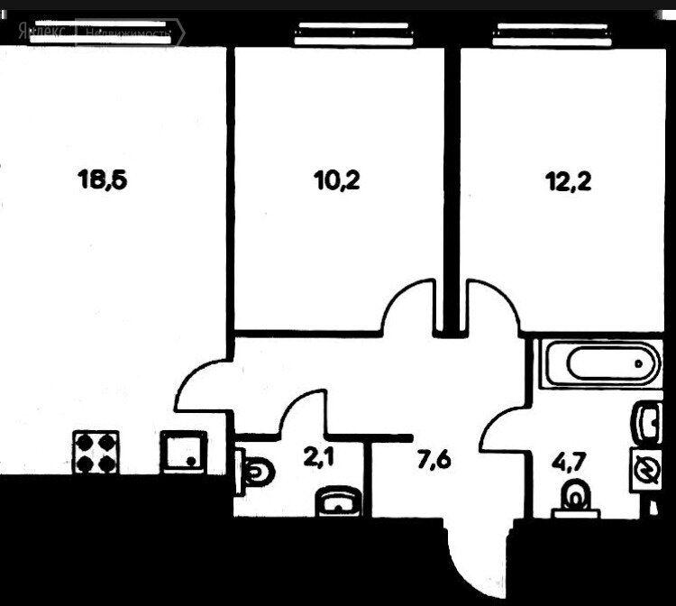 Продажа двухкомнатной квартиры Москва, метро Авиамоторная, Красноказарменная улица 14Ак5, цена 17300000 рублей, 2021 год объявление №639513 на megabaz.ru