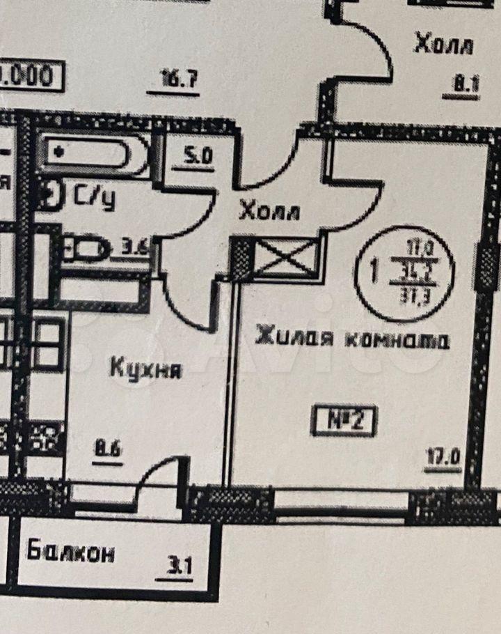 Продажа однокомнатной квартиры деревня Исаково, цена 5300000 рублей, 2021 год объявление №679129 на megabaz.ru