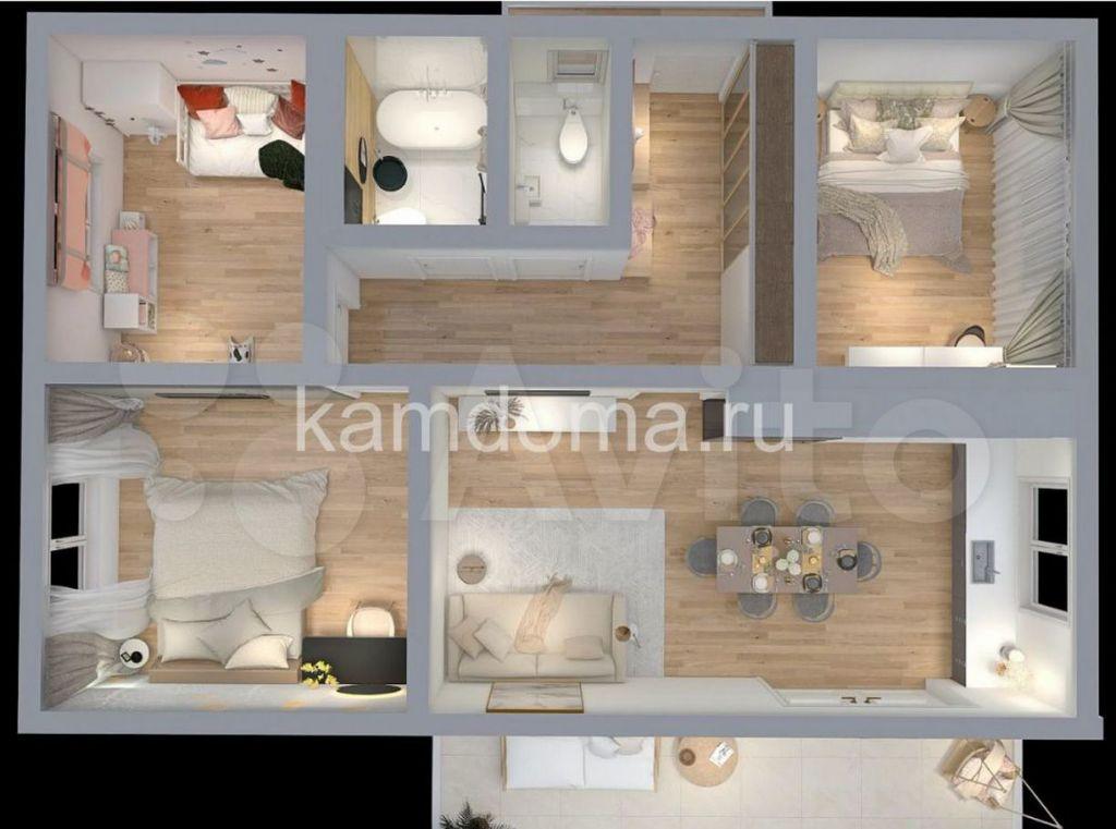 Продажа дома деревня Аббакумово, цена 8500000 рублей, 2021 год объявление №691436 на megabaz.ru