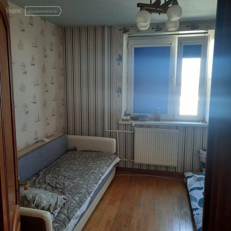Аренда трёхкомнатной квартиры Видное, Школьная улица 55Ак1, цена 45000 рублей, 2021 год объявление №1409077 на megabaz.ru