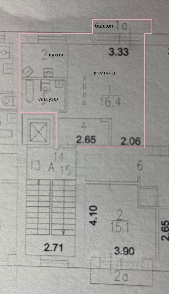 Продажа однокомнатной квартиры Москва, метро Октябрьское поле, улица Гамалеи 11к2, цена 8690000 рублей, 2021 год объявление №650104 на megabaz.ru