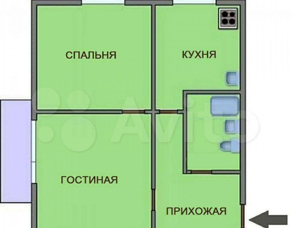 Аренда однокомнатной квартиры Москва, метро Профсоюзная, Ломоносовский проспект 3к3, цена 42000 рублей, 2021 год объявление №1431837 на megabaz.ru
