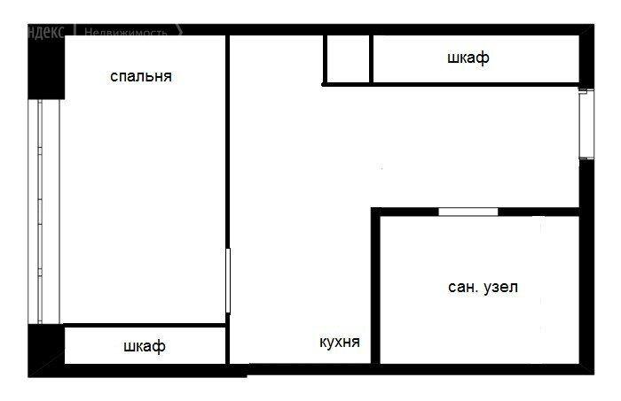 Аренда однокомнатной квартиры деревня Большие Жеребцы, метро Щелковская, цена 21000 рублей, 2021 год объявление №1453939 на megabaz.ru