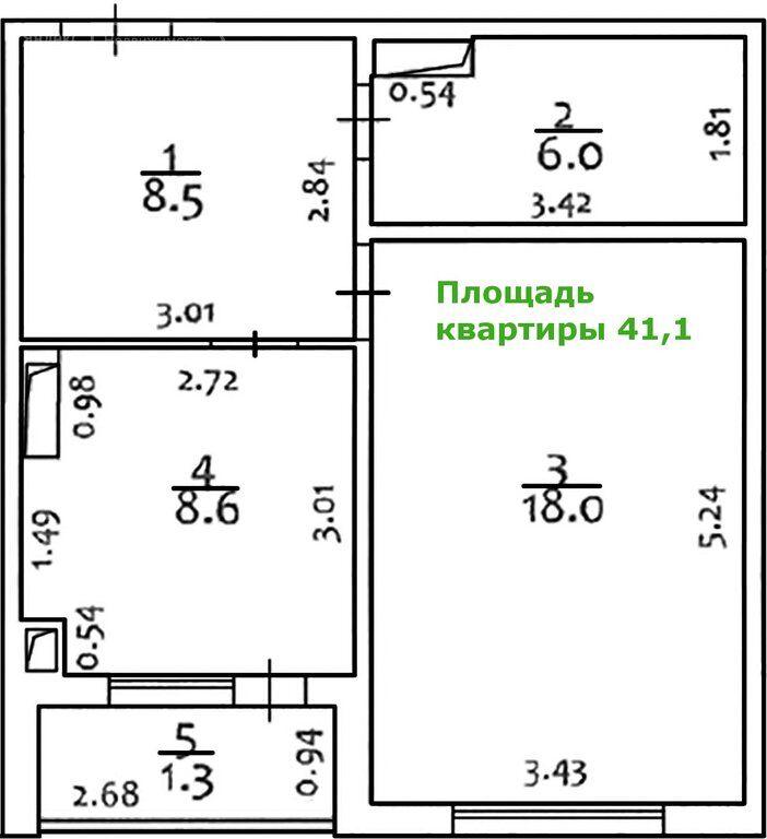 Продажа однокомнатной квартиры деревня Чёрная, Тенистая улица 6, цена 6100000 рублей, 2021 год объявление №668569 на megabaz.ru
