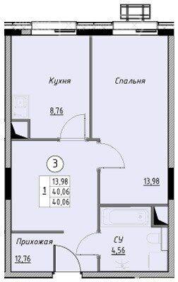 Продажа однокомнатной квартиры Лыткарино, цена 3500000 рублей, 2021 год объявление №663358 на megabaz.ru