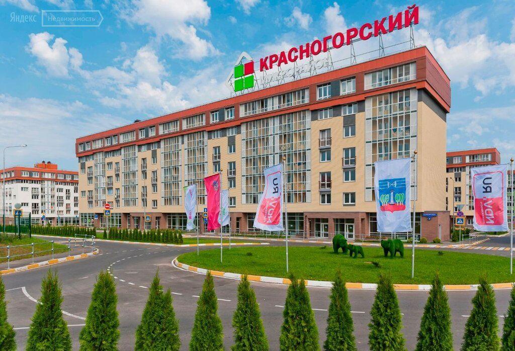 Продажа однокомнатной квартиры рабочий посёлок Нахабино, Стартовая улица 8, цена 5150000 рублей, 2021 год объявление №708868 на megabaz.ru