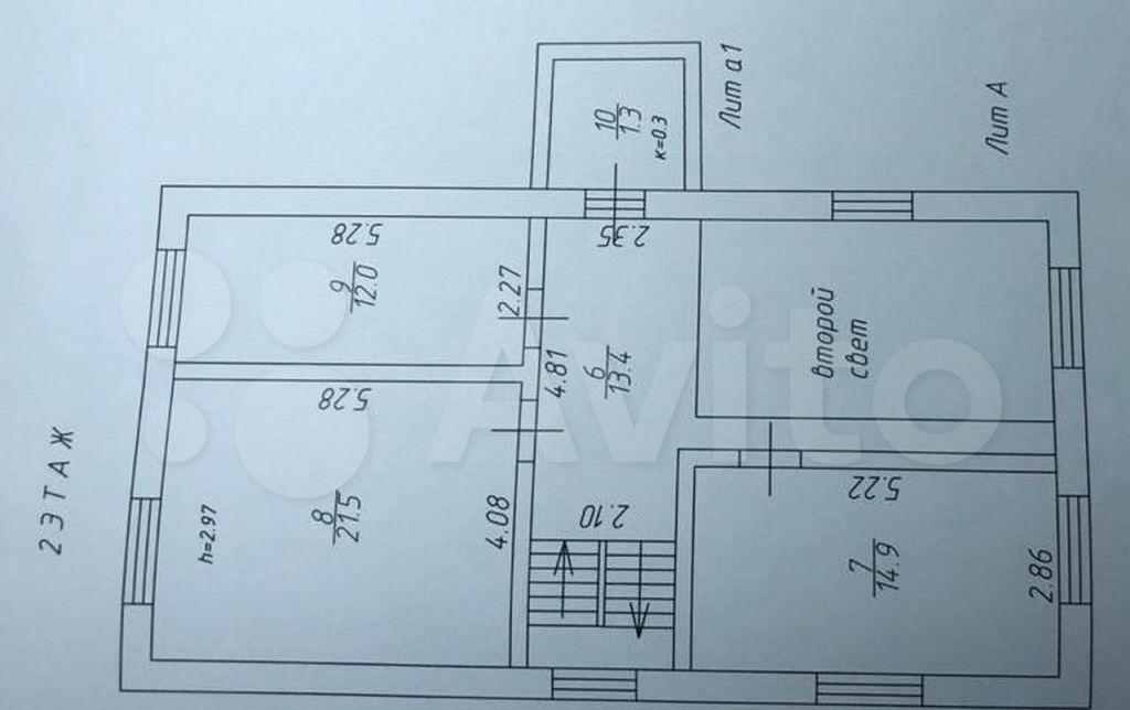 Продажа дома село Марфино, цена 7300000 рублей, 2021 год объявление №643052 на megabaz.ru