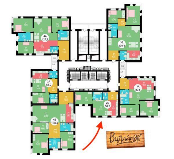 Аренда двухкомнатной квартиры Москва, метро Полежаевская, улица Саляма Адиля 2к1, цена 77000 рублей, 2021 год объявление №1409297 на megabaz.ru