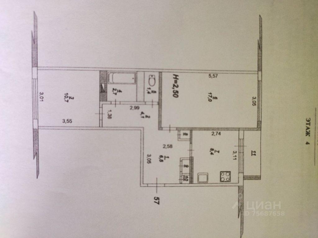 Продажа двухкомнатной квартиры село Липицы, метро Аннино, цена 3250000 рублей, 2021 год объявление №644229 на megabaz.ru