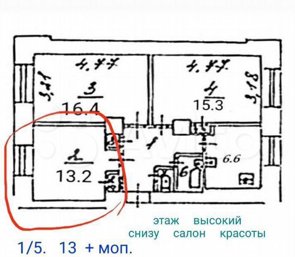 Продажа комнаты Москва, метро Крестьянская застава, Воронцовская улица 48, цена 6800000 рублей, 2021 год объявление №688856 на megabaz.ru