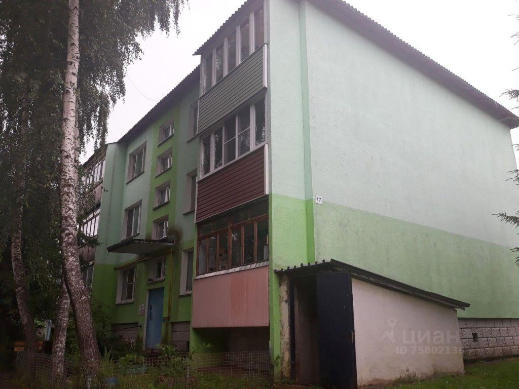 Продажа двухкомнатной квартиры деревня Слобода, Центральная улица 17, цена 1850000 рублей, 2021 год объявление №645137 на megabaz.ru