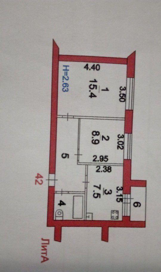 Продажа двухкомнатной квартиры поселок Реммаш, Институтская улица 15, цена 2350000 рублей, 2021 год объявление №386605 на megabaz.ru