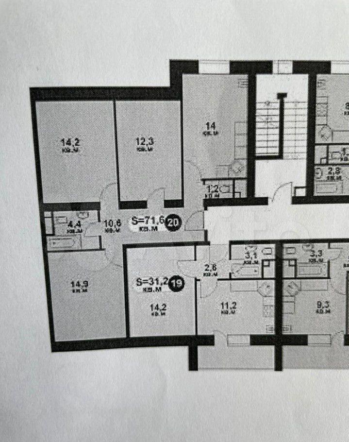 Продажа однокомнатной квартиры село Озерецкое, цена 3300000 рублей, 2021 год объявление №647170 на megabaz.ru
