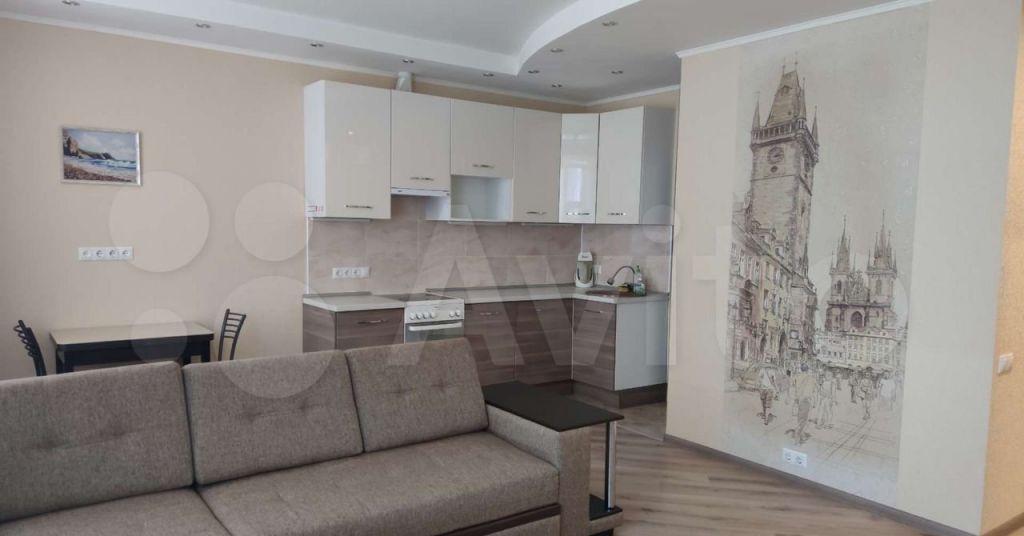 Аренда студии деревня Подолино, Солнечная улица 4, цена 23000 рублей, 2021 год объявление №1418111 на megabaz.ru