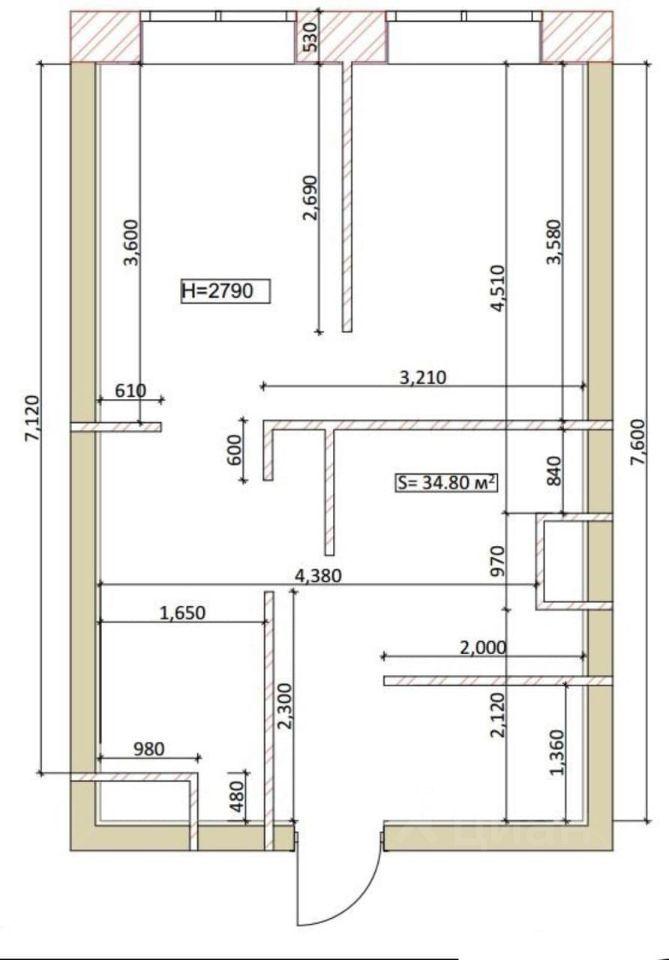 Продажа двухкомнатной квартиры деревня Подолино, Лесная улица 6, цена 4300000 рублей, 2021 год объявление №648180 на megabaz.ru