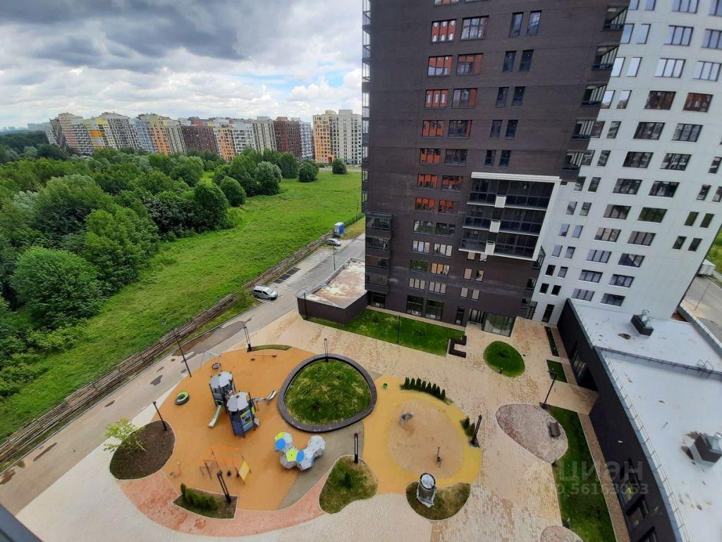 Продажа однокомнатной квартиры поселок Отрадное, метро Пятницкое шоссе, Пятницкая улица 17Б, цена 6650000 рублей, 2021 год объявление №642587 на megabaz.ru