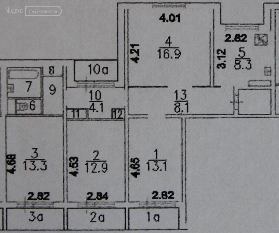 Продажа четырёхкомнатной квартиры Москва, метро Отрадное, улица Декабристов 2к2, цена 19480000 рублей, 2021 год объявление №583610 на megabaz.ru