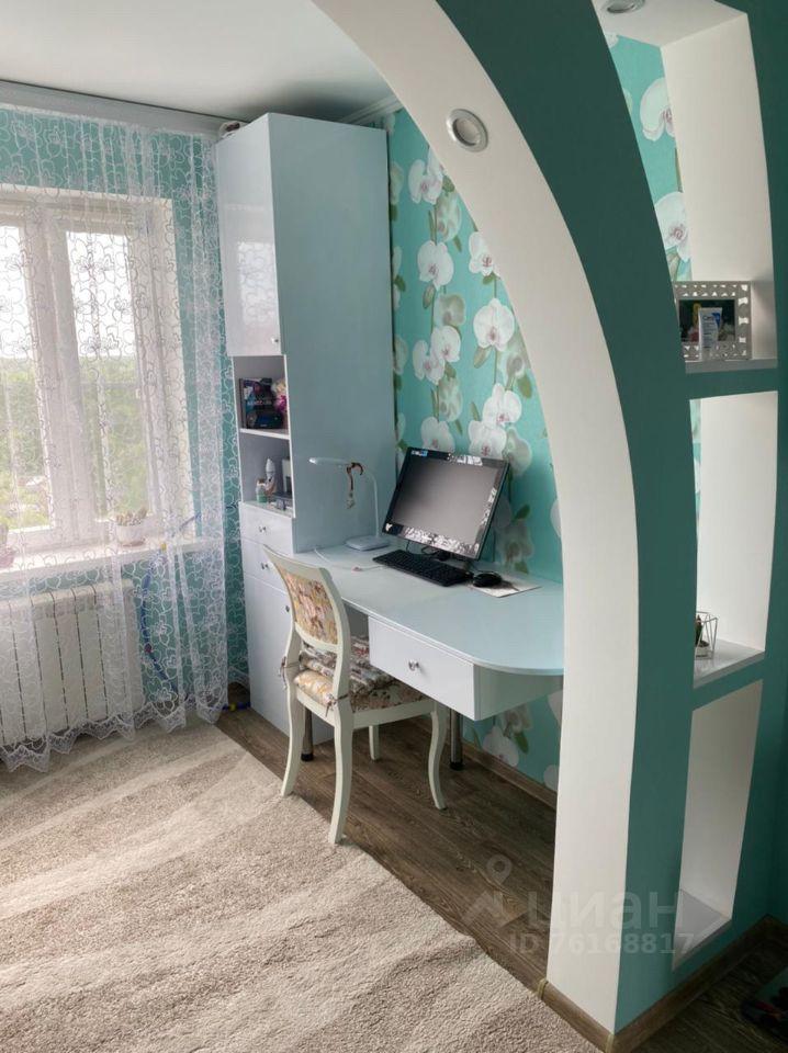 Продажа двухкомнатной квартиры Электроугли, Комсомольская улица 15А, цена 7000000 рублей, 2021 год объявление №649583 на megabaz.ru