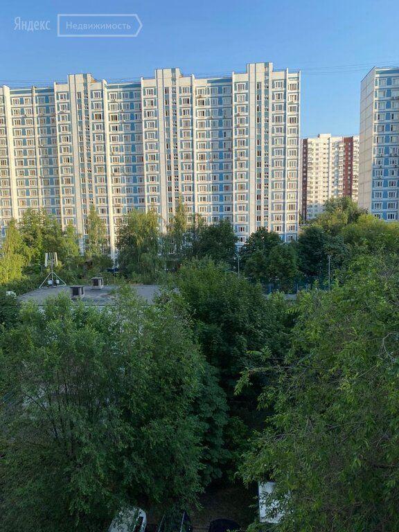 Продажа однокомнатной квартиры Москва, метро Крылатское, Крылатская улица 29к1, цена 12300000 рублей, 2021 год объявление №701462 на megabaz.ru