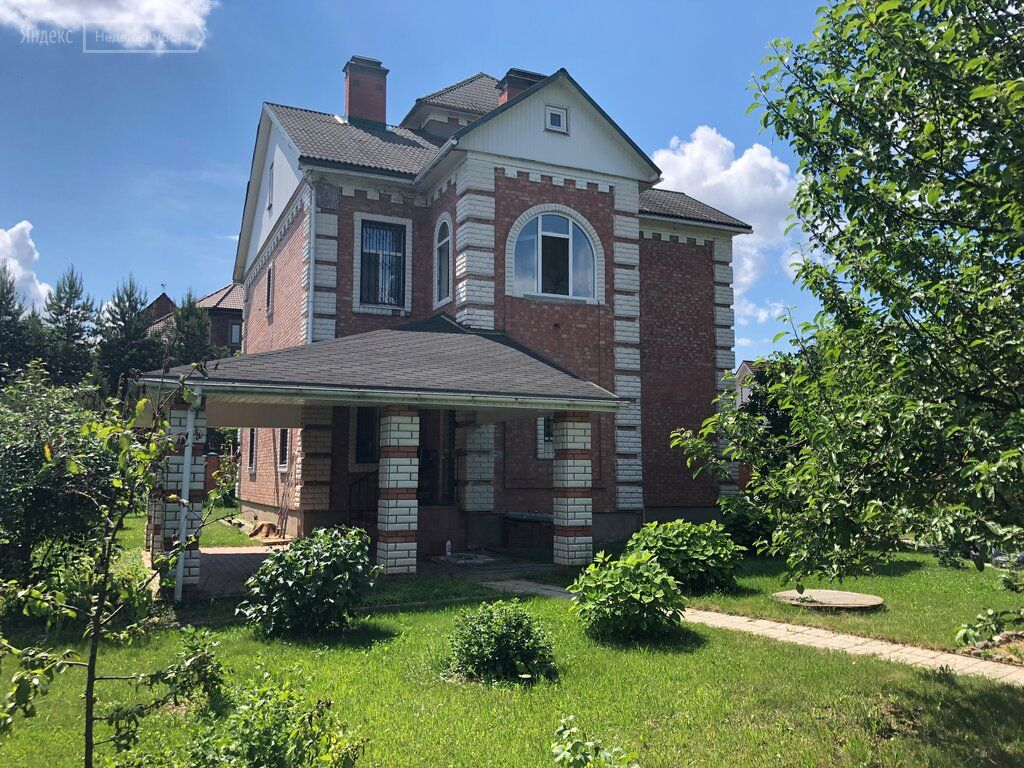 Продажа дома деревня Красновидово, цена 29990000 рублей, 2021 год объявление №650290 на megabaz.ru