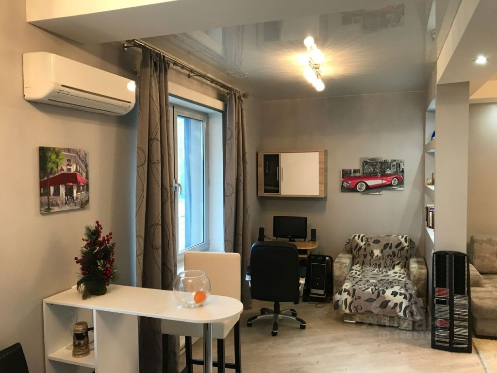 Аренда однокомнатной квартиры село Ромашково, цена 40000 рублей, 2021 год объявление №1422848 на megabaz.ru