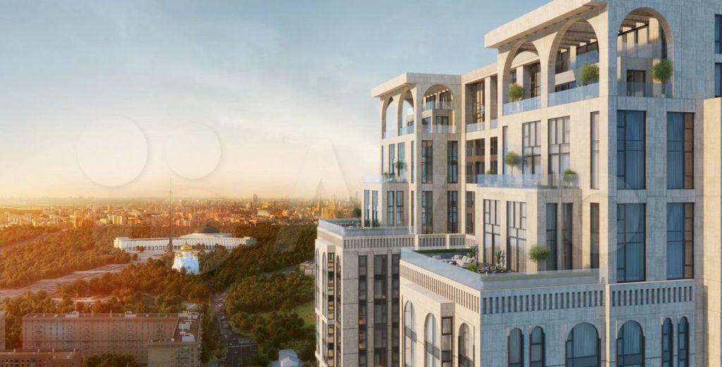 Продажа трёхкомнатной квартиры Москва, метро Парк Победы, цена 69132992 рублей, 2021 год объявление №660118 на megabaz.ru