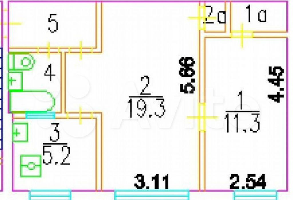 Аренда двухкомнатной квартиры Москва, метро Чертановская, Черноморский бульвар 5к2, цена 33000 рублей, 2021 год объявление №1424594 на megabaz.ru