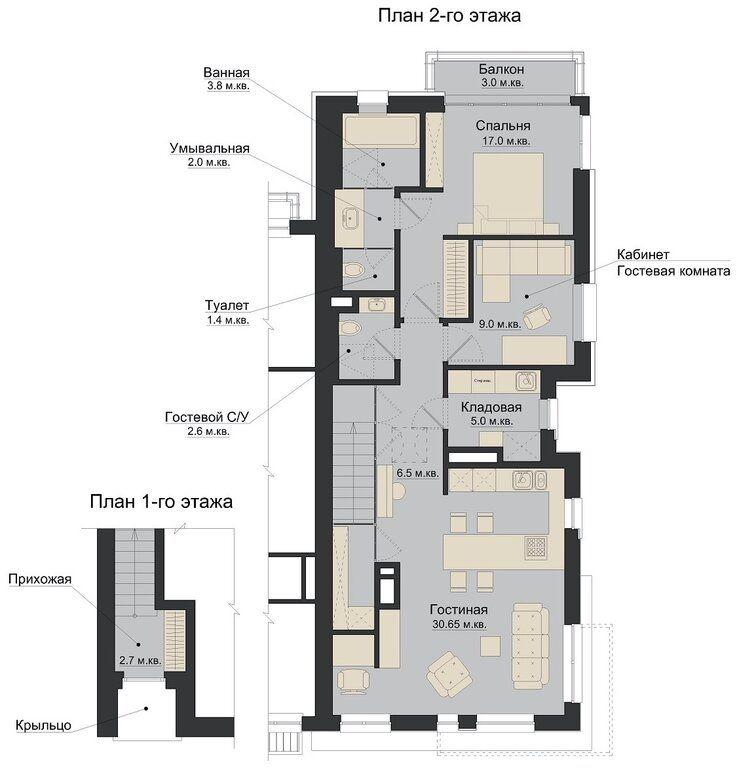 Аренда трёхкомнатной квартиры поселок Мещерино, метро Зябликово, цена 69999 рублей, 2021 год объявление №1426200 на megabaz.ru