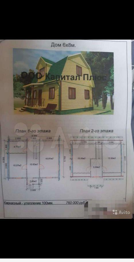 Продажа дома садовое товарищество Рассвет, цена 1320000 рублей, 2021 год объявление №654822 на megabaz.ru