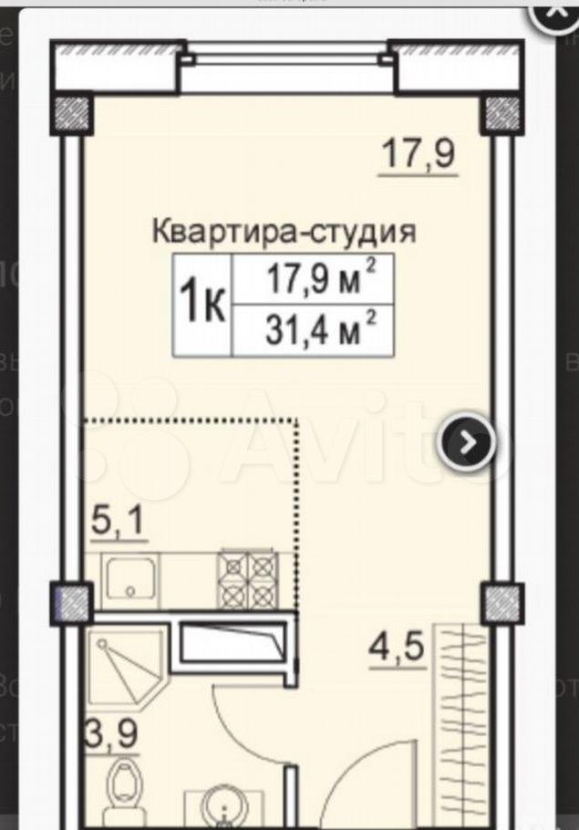 Аренда студии деревня Большие Жеребцы, цена 10000 рублей, 2021 год объявление №1232241 на megabaz.ru