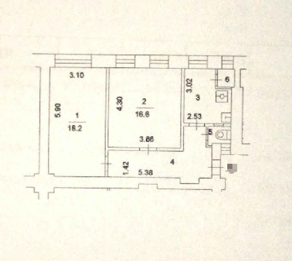 Аренда двухкомнатной квартиры Москва, метро Электрозаводская, Медовый переулок 8, цена 65000 рублей, 2021 год объявление №1429184 на megabaz.ru