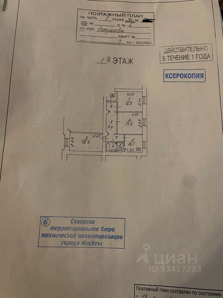 Продажа трёхкомнатной квартиры Москва, метро Аэропорт, улица Острякова 6, цена 26000000 рублей, 2021 год объявление №653686 на megabaz.ru