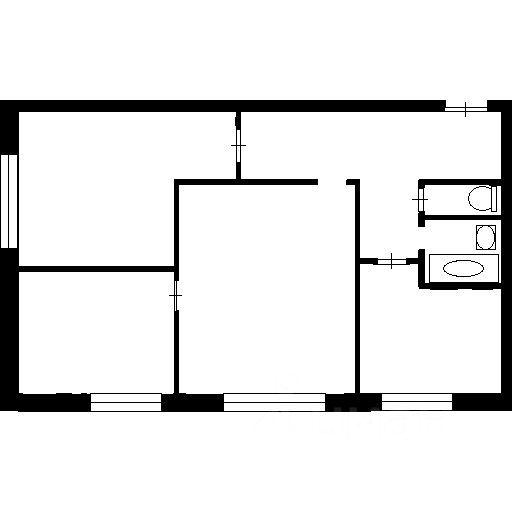 Продажа трёхкомнатной квартиры Москва, метро Тушинская, 1-й Тушинский проезд 3, цена 11200000 рублей, 2021 год объявление №644597 на megabaz.ru