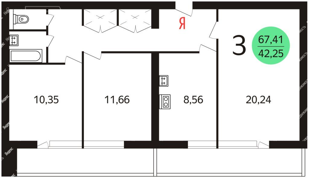 Аренда трёхкомнатной квартиры Москва, метро Шипиловская, улица Мусы Джалиля 8к2, цена 70000 рублей, 2021 год объявление №1448530 на megabaz.ru