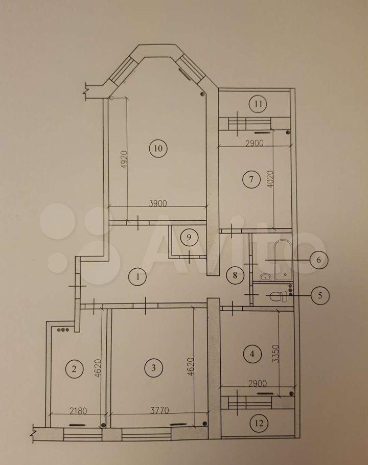 Продажа четырёхкомнатной квартиры Фрязино, проспект Мира 8, цена 8000000 рублей, 2021 год объявление №656466 на megabaz.ru
