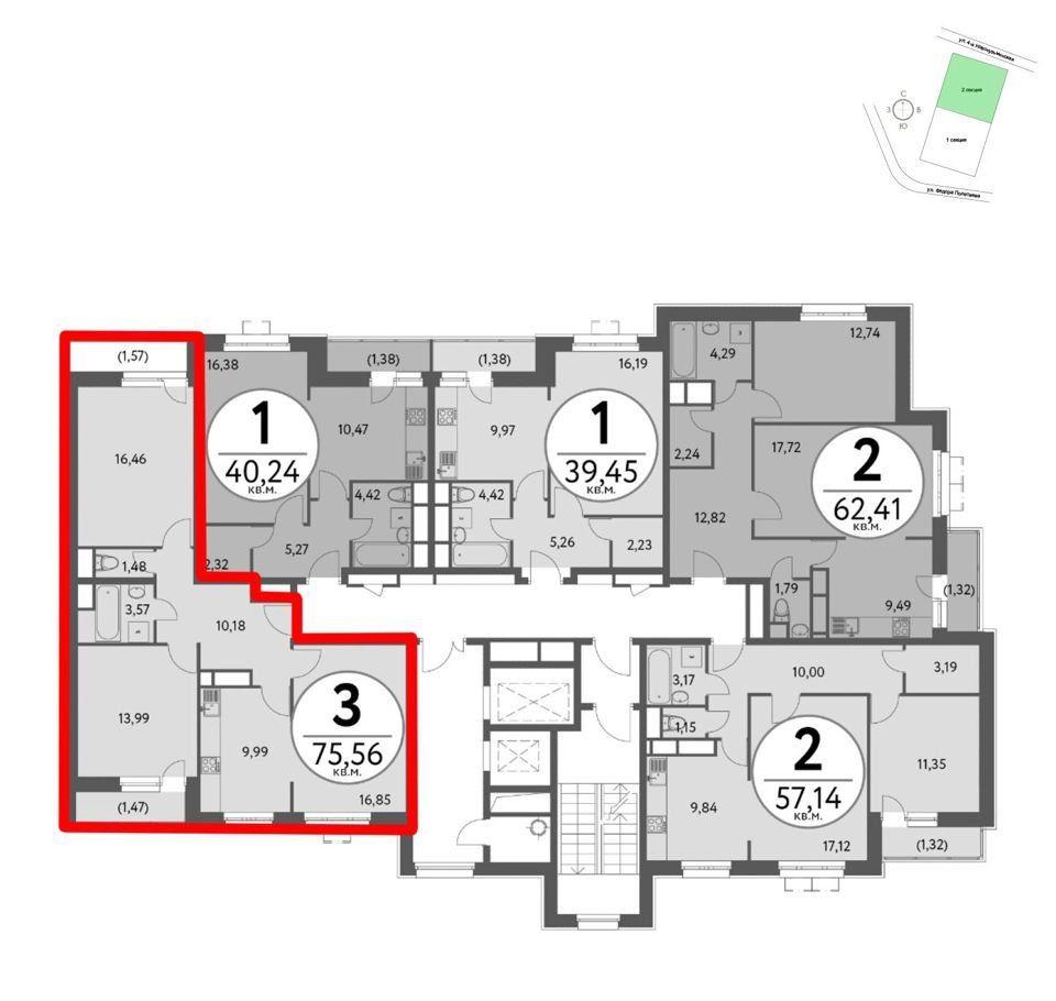 Продажа трёхкомнатной квартиры Москва, метро Рязанский проспект, цена 15100000 рублей, 2020 год объявление №435520 на megabaz.ru