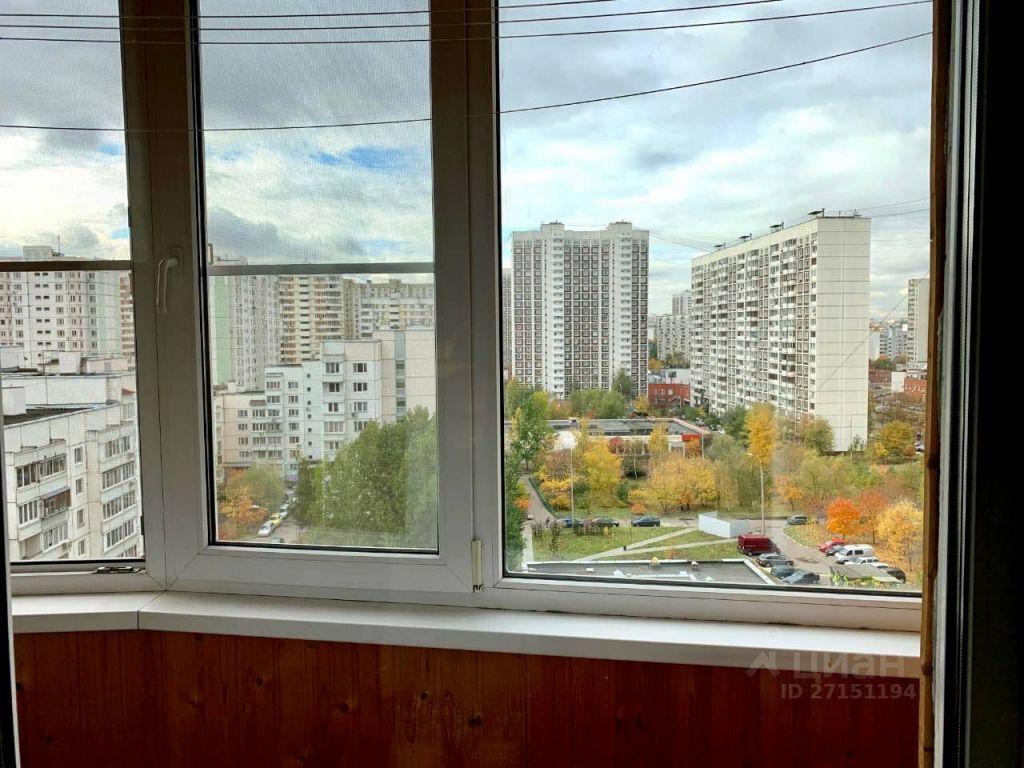 Аренда однокомнатной квартиры Москва, метро Братиславская, Новомарьинская улица 28, цена 39000 рублей, 2021 год объявление №1432747 на megabaz.ru