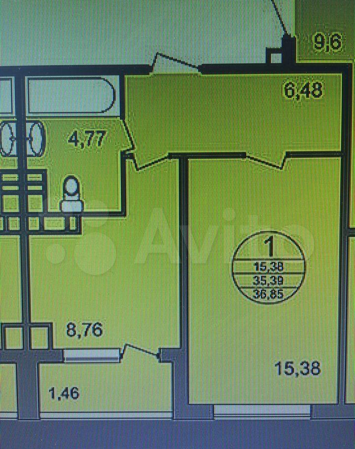 Продажа однокомнатной квартиры деревня Чёрная, Тенистая улица 6, цена 5270000 рублей, 2021 год объявление №639277 на megabaz.ru