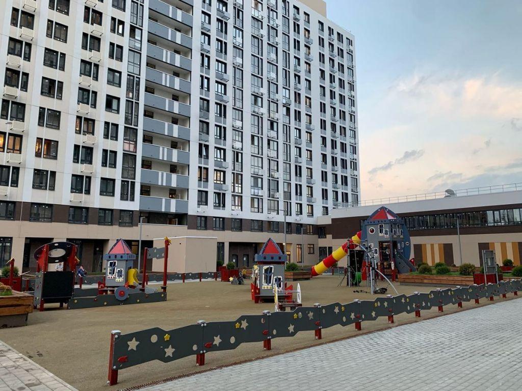 Продажа студии рабочий поселок Новоивановское, бульвар Эйнштейна 2, цена 5150000 рублей, 2021 год объявление №655191 на megabaz.ru