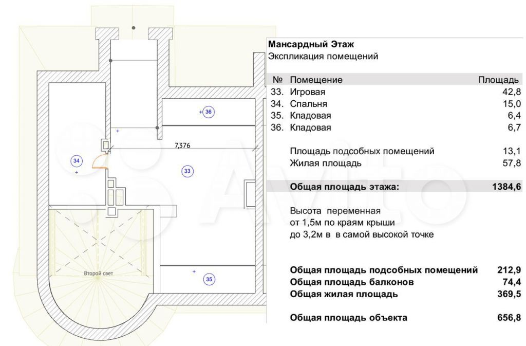 Продажа дома деревня Рыбаки, 2-я Заповедная улица 5, цена 38000000 рублей, 2021 год объявление №604730 на megabaz.ru
