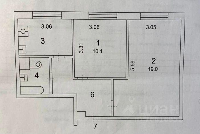 Продажа двухкомнатной квартиры Москва, метро Коньково, улица Академика Арцимовича 15, цена 11500000 рублей, 2021 год объявление №657489 на megabaz.ru