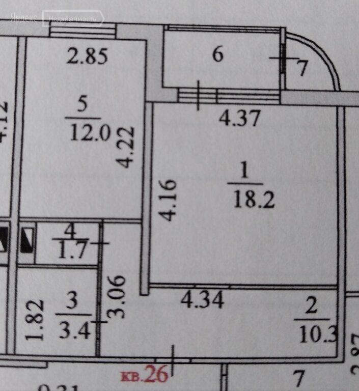 Продажа однокомнатной квартиры деревня Островцы, Подмосковная улица 29, цена 5480000 рублей, 2021 год объявление №659390 на megabaz.ru