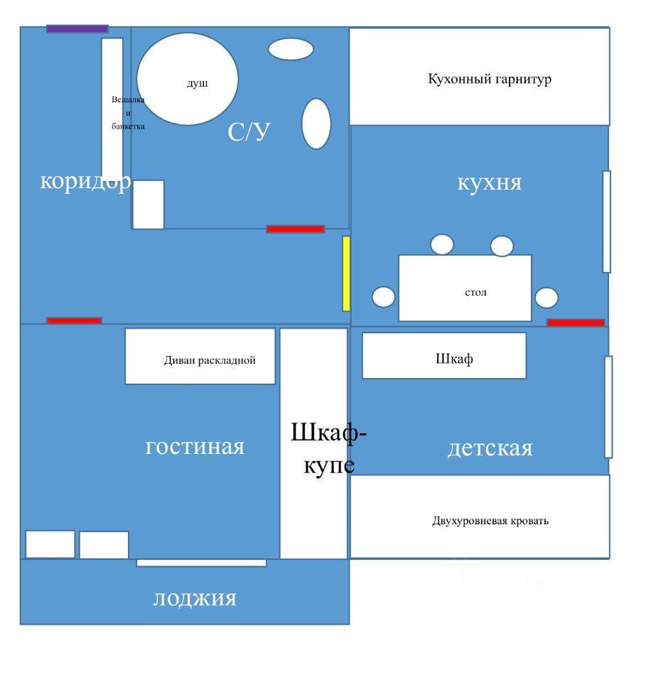 Продажа двухкомнатной квартиры Москва, метро Кузьминки, Волгоградский проспект 60к1, цена 9500000 рублей, 2021 год объявление №657483 на megabaz.ru