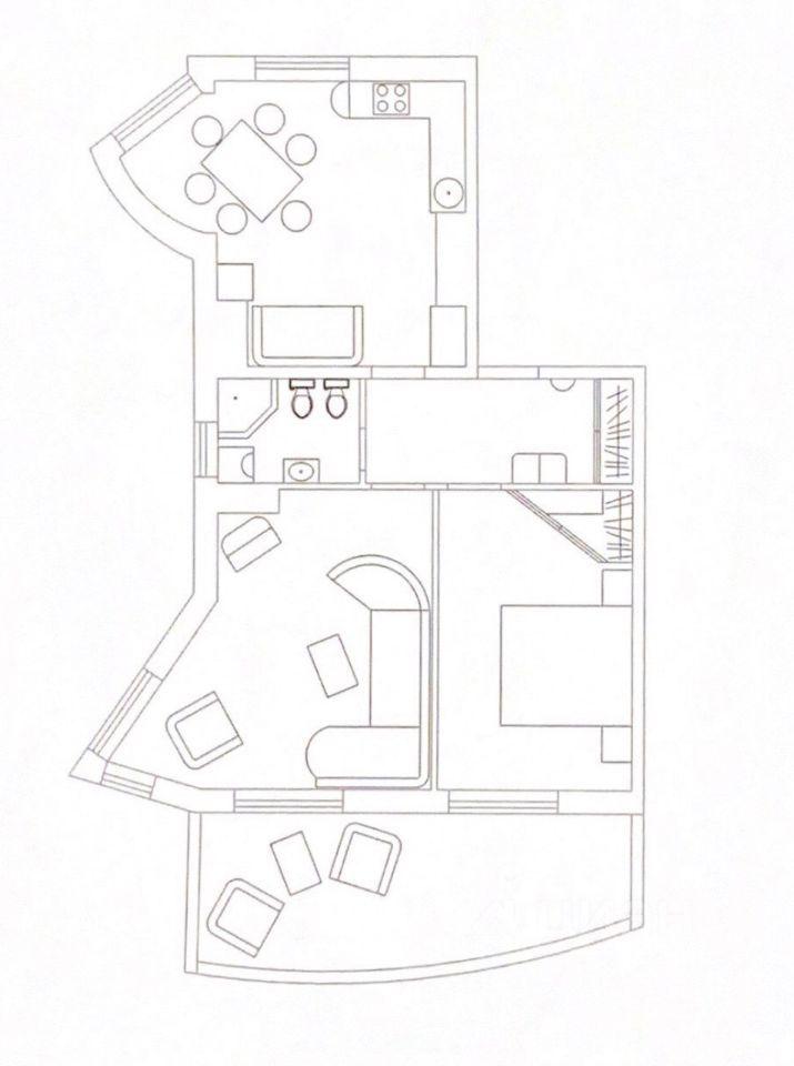 Продажа двухкомнатной квартиры Москва, метро Выставочная, 3-я Красногвардейская улица 3, цена 33300000 рублей, 2021 год объявление №653487 на megabaz.ru