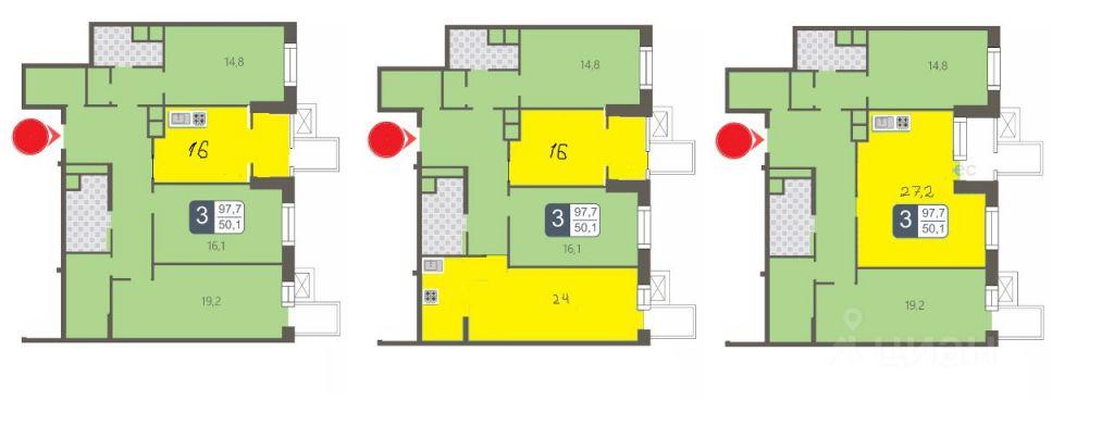 Продажа трёхкомнатной квартиры Москва, метро Фили, Береговой проезд 1А, цена 35400000 рублей, 2021 год объявление №650485 на megabaz.ru