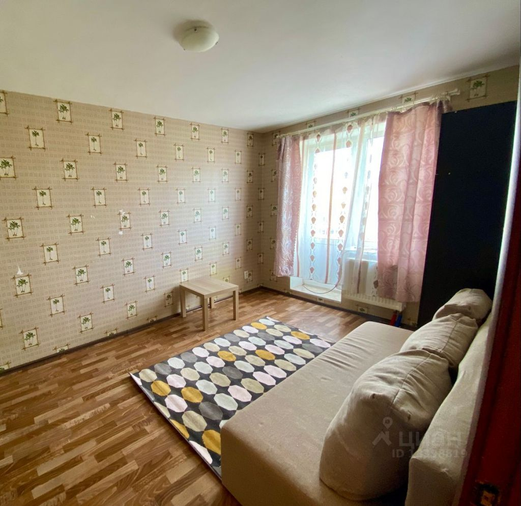 Аренда однокомнатной квартиры село Верзилово, Мещерская улица 8, цена 12000 рублей, 2021 год объявление №1431234 на megabaz.ru