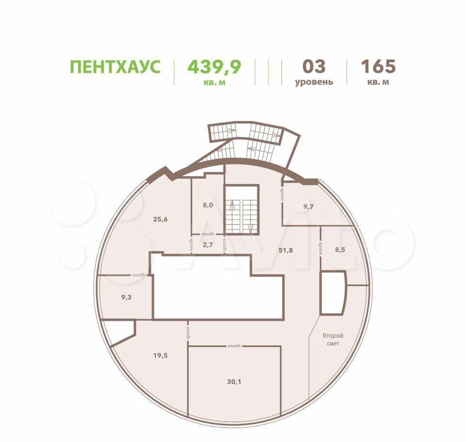 Продажа пятикомнатной квартиры Москва, метро Юго-Западная, Ленинский проспект 111к1, цена 84000000 рублей, 2021 год объявление №660112 на megabaz.ru