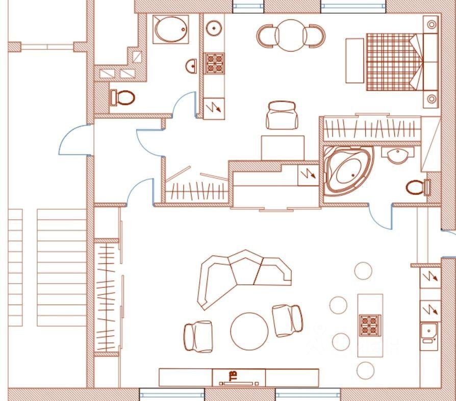 Аренда двухкомнатной квартиры Москва, метро Проспект Мира, улица Гиляровского 55, цена 200000 рублей, 2021 год объявление №1430903 на megabaz.ru