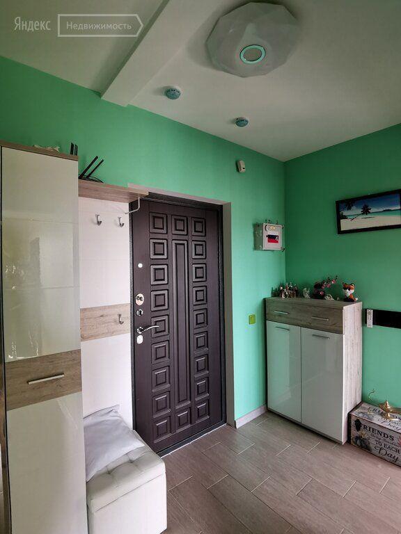 Продажа однокомнатной квартиры село Домодедово, улица Творчества 7, цена 6300000 рублей, 2021 год объявление №659664 на megabaz.ru
